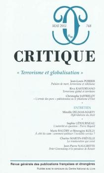 Critique, n° 768 -