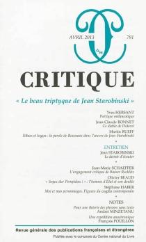 Critique, n° 791 -