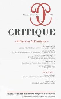 Critique, n° 798 -