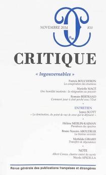 Critique, n° 810 -