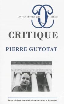 Critique, n° 824-825 -