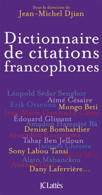 Dictionnaire de citations francophones -
