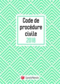 Code de procédure civile 2018 : jaquette graphik