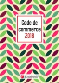 Code de commerce 2018 : graphik bleu