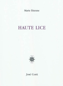 Haute lice - MarieÉtienne