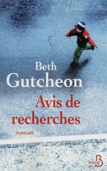 Avis de recherches - BethGutcheon