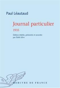 Journal particulier - PaulLéautaud