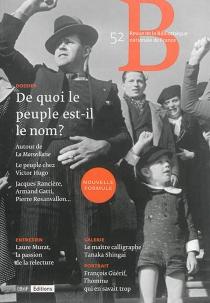 Revue de la Bibliothèque nationale de France, n° 52 -