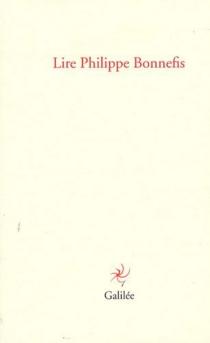 Lire Philippe Bonnefis -