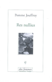 Res nullius - PommeJouffroy
