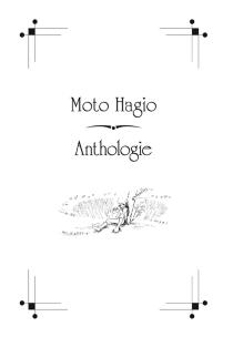 Moto Hagio : anthologie - HagioMoto