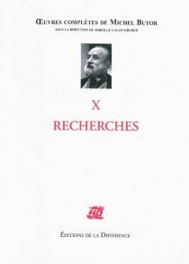 Michel Butor| Oeuvres complètes de Michel Butor| sous la direction de Mireille Calle-Gruber - MichelButor