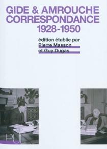 Correspondance : 1928-1950 - JeanAmrouche