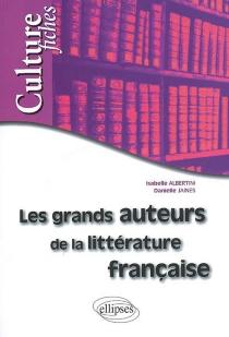 Les grands auteurs de la littérature française - IsabelleAlbertini