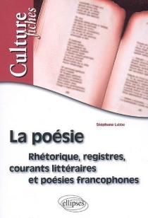 La poésie : rhétorique, registres, courants littéraires et poésies francophones - StéphaneLabbe