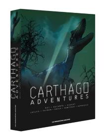 Coffret Carthago adventures : tomes 1 à 4 -