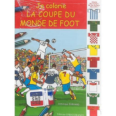 Je colorie la coupe du monde de foot livres jeux espace culturel e leclerc - Jeux de foot de la coupe du monde ...