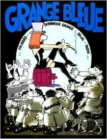Grange bleue - DominiqueGrange