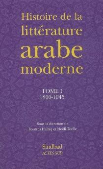 Histoire de la littérature arabe moderne -