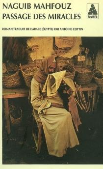 Passage des miracles - NaguibMahfouz