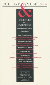 Culture et musées, n° 14 -