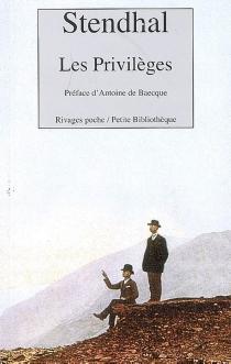 Les privilèges - Stendhal