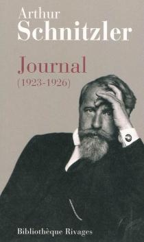 Journal (1923-1926)| Suivi de Lettres - ArthurSchnitzler