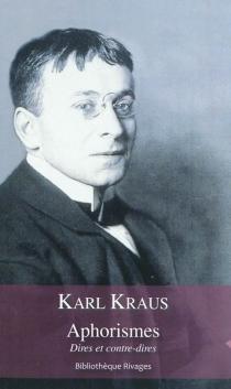 Aphorismes| Dires et contre-dires - KarlKraus