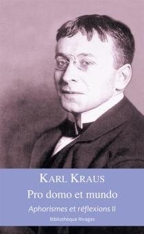 Aphorismes et réflexions - KarlKraus