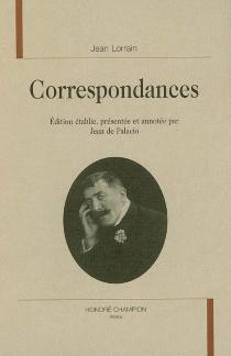 Correspondances - JeanLorrain