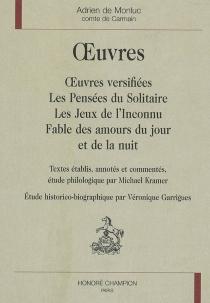 Oeuvres - Adrien deMonluc