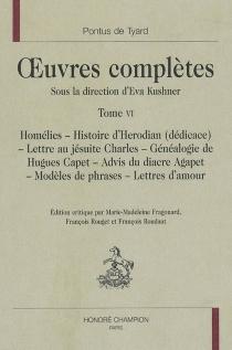 Oeuvres complètes | Volume 6 - Pontus deTyard