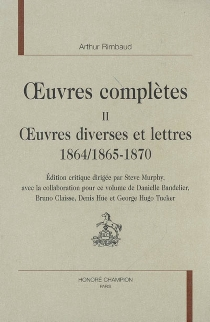 Oeuvres complètes - Arthur Rimbaud