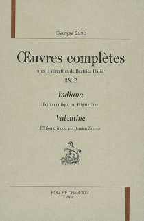Oeuvres complètes | 1832 - GeorgeSand