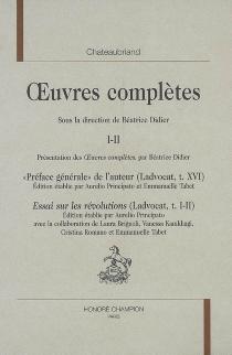 Oeuvres complètes | Volume 1-2 - François René deChateaubriand