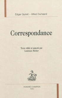 Correspondance - Alfred Dumesnil