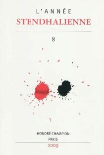 Année stendhalienne (L'), n° 8 -