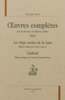 Oeuvres complètes | 1840 - GeorgeSand