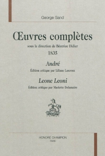 Oeuvres complètes | 1835 - George Sand