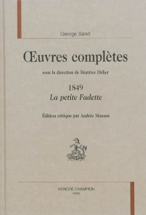 Oeuvres complètes | 1849 - GeorgeSand