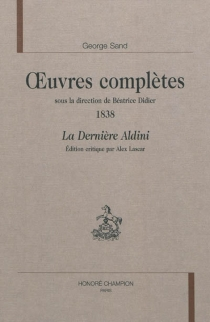 Oeuvres complètes | 1838 - George Sand