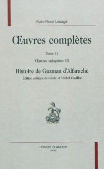 Oeuvres adaptées| Oeuvres complètes - Alain-RenéLesage