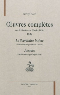 Oeuvres complètes | 1834 - George Sand