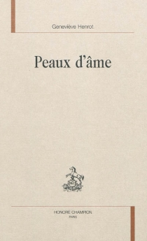 Peaux d'âme - GenevièveHenrot
