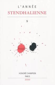 Année stendhalienne (L'), n° 9 -