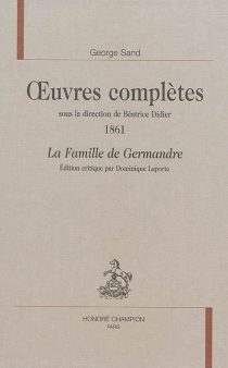 Oeuvres complètes | 1861 - George Sand