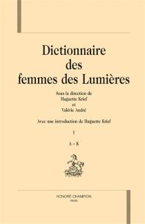 Dictionnaire des femmes des Lumières -