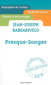 Jean-Joseph Rabearivelo, Presque-songes - Charles-ÉdouardSaint-Guilhem