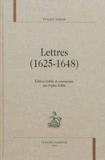 Lettres (1625-1648) - VincentVoiture