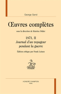 Oeuvres complètes | 1871 (2) - George Sand